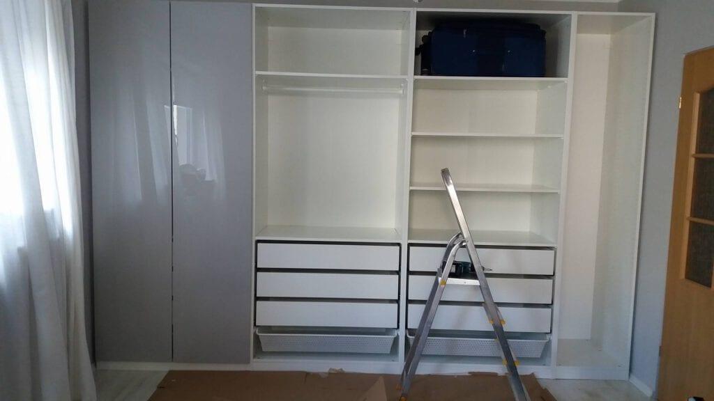 12 Montaż szafy ikea